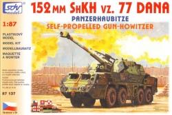 152mm ShKH vz 77 DANA (stavebnice 1:87)