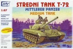 Střední tank T-72 (stavebnice)