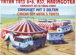 Cirkusový set (stavebnice 1:87)