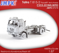 Tatra T 815-2 Facelift 4x4 chassis 4090 mm (stavebnice)
