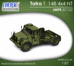 Tatra T 148 NT 4x4 tahač návěsů (stavebnice 1:87)