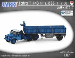 Tatra T 148 + N 19.081 - stavebnice